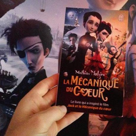 La Mécanique du Cœur - nouvelle édition - J'ai Lu - Mathias Malzieu