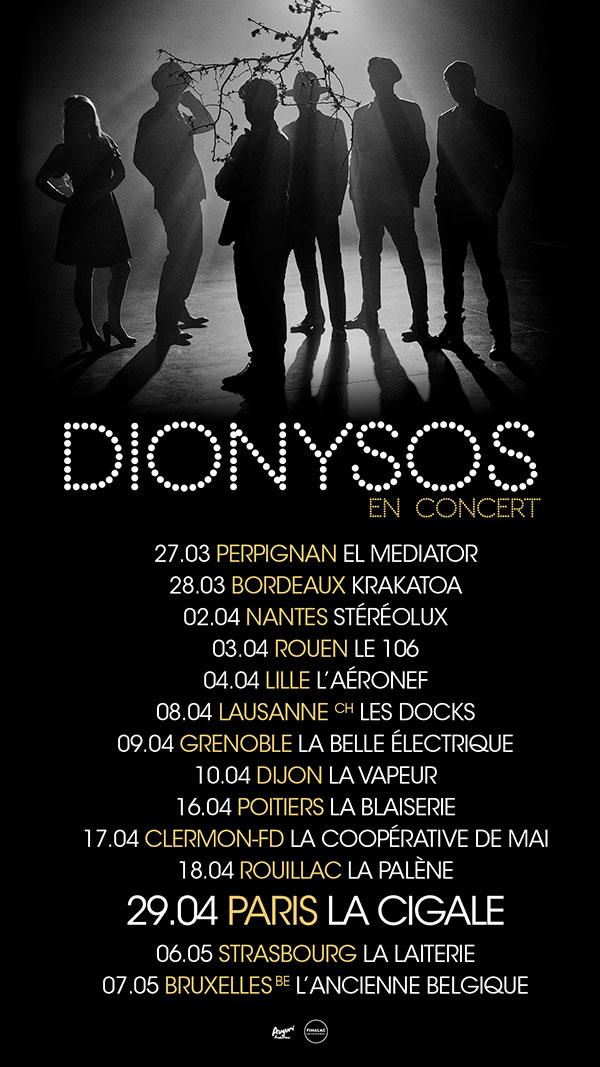 Dionysos - En concert
